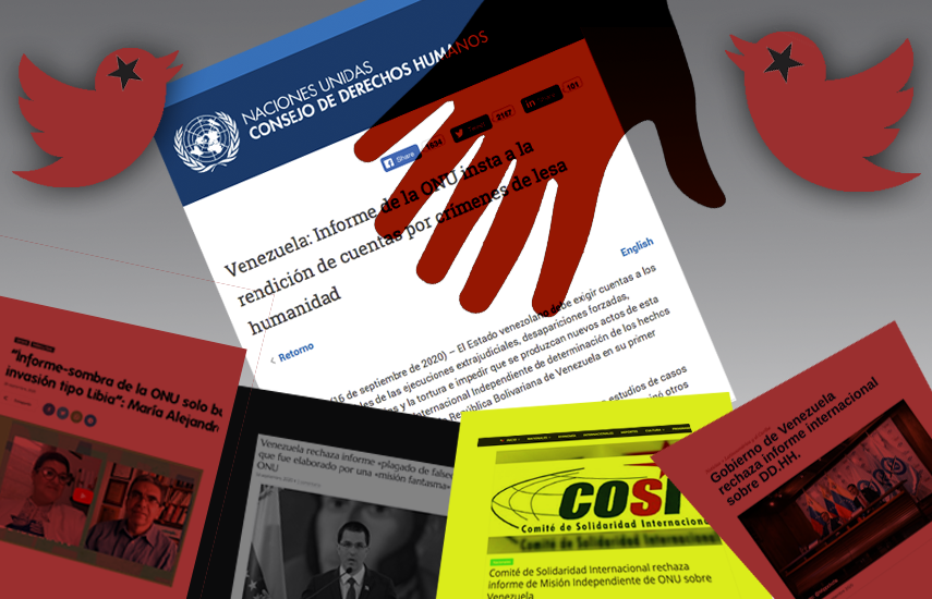 Read more about the article UN Report: A New Enemy, Coverage, and Disinformation on Regime-Aligned Media